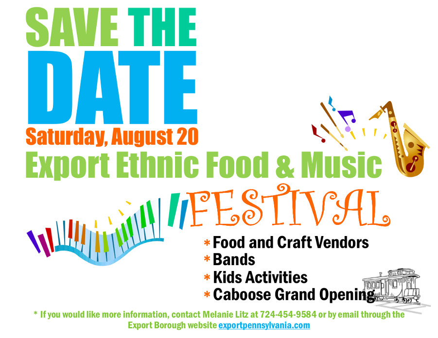 Export Ethnic Food and Music Festival